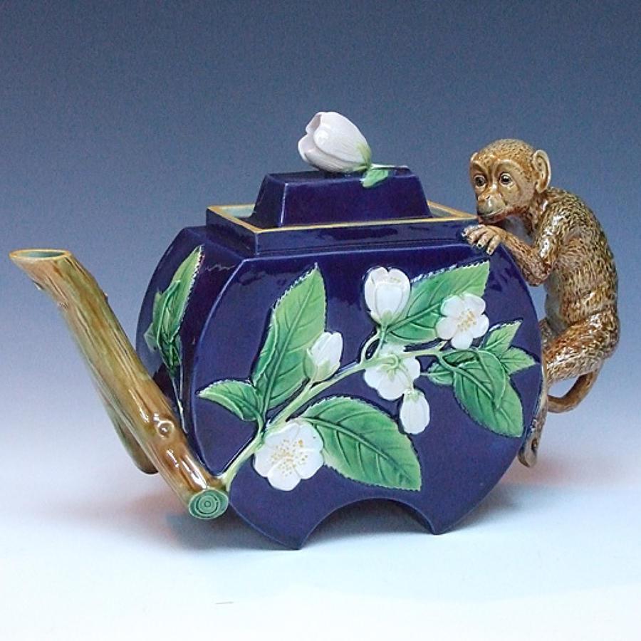 Majolica Teapots