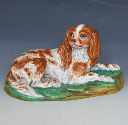 Copeland soft paste King Charles spaniel