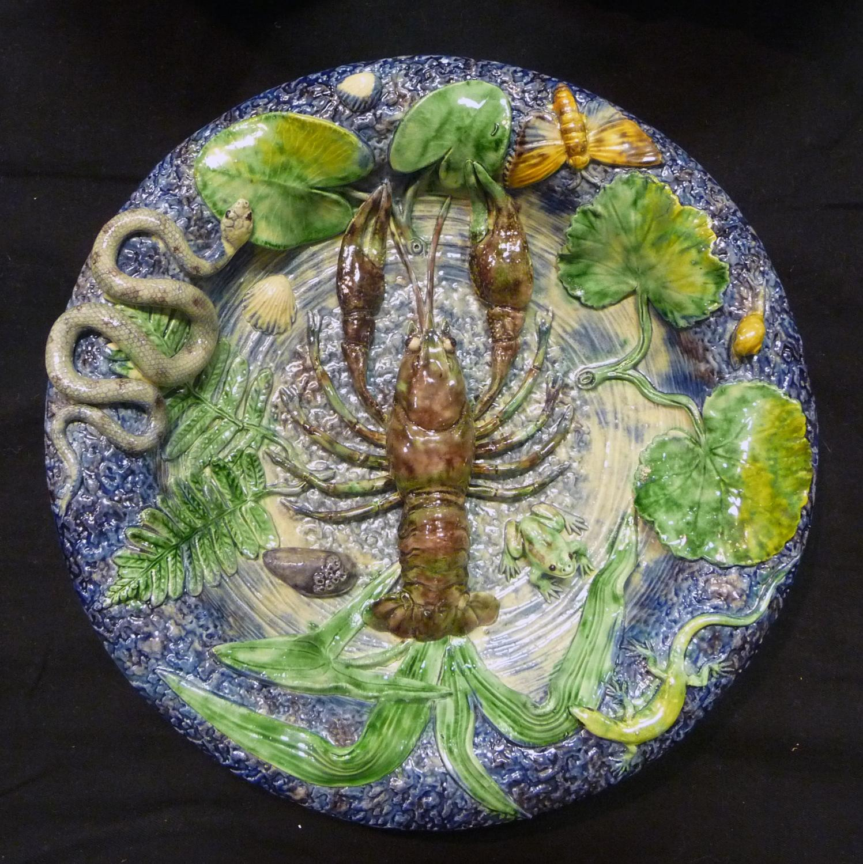 Palissy lobster dish