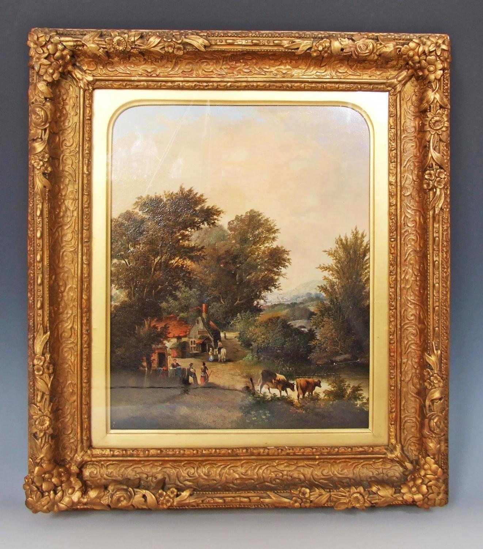 English landscape by E R Barnes
