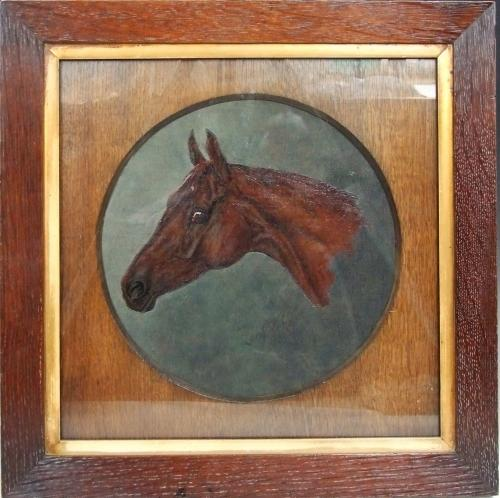 Horse head portrait by H. F. Lucas-Lucas