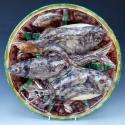Large Palissy fish charger - picture 1