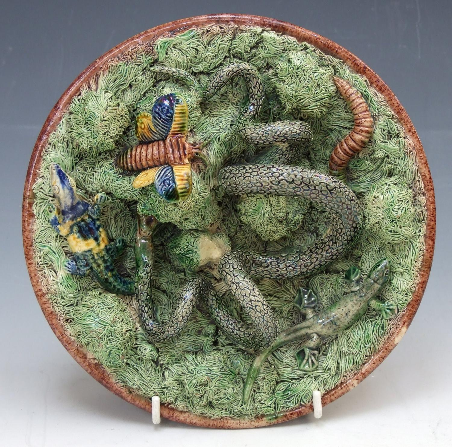 Palissy reptile plate