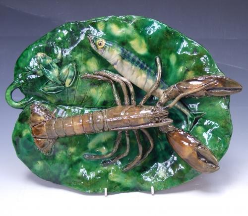 Renoleau Palissy lobster platter