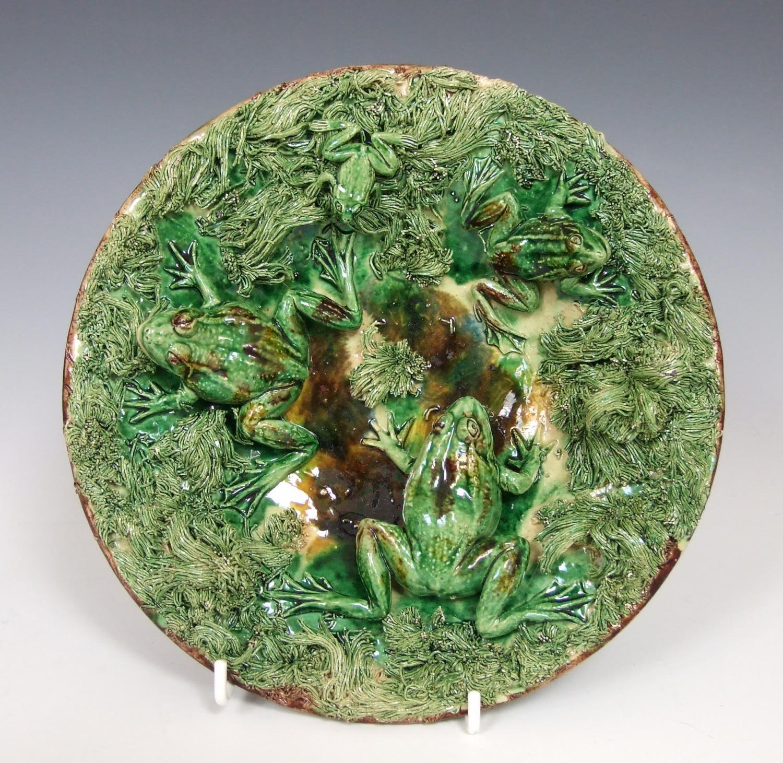 Mafra Palissy frog plate
