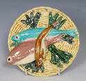 Rare Thomas Sergent Palissy fish plaque - picture 1