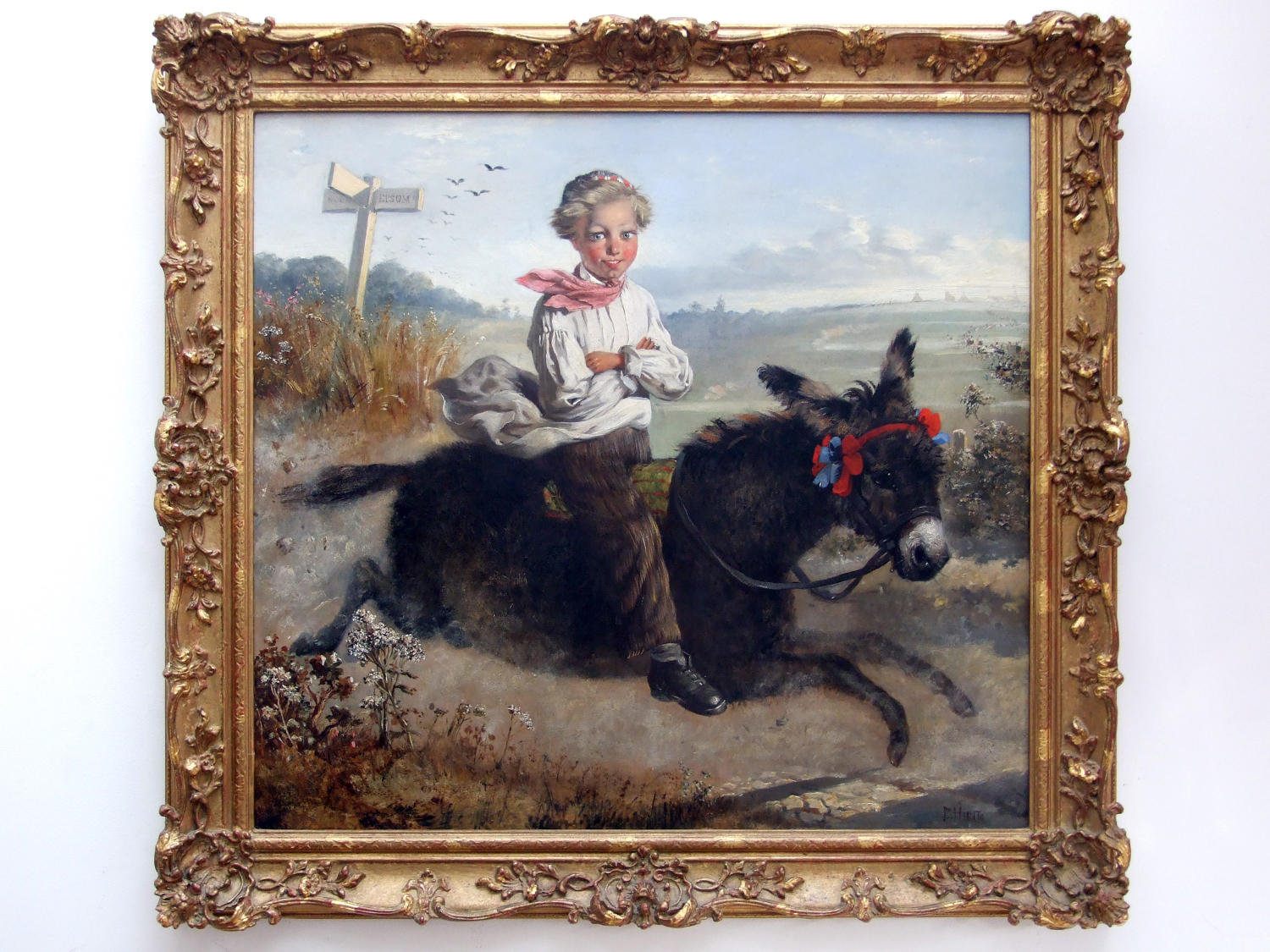 'Off to the Derby!' Fantastic pair of oil paintings by Charles Hunt