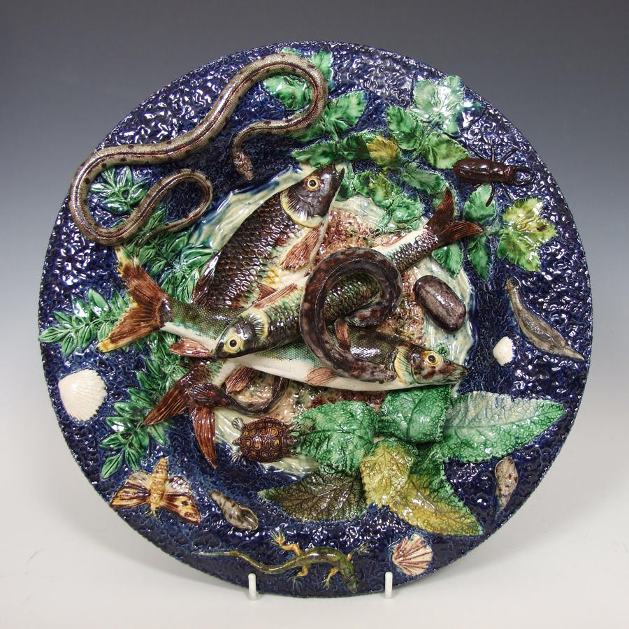 Thomas Sergent Palissy fish charger