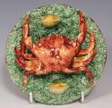 Rare Portuguese Palissy small crab plate - picture 1