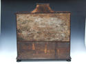 Unusual and attractive inlaid table cabinet - picture 2