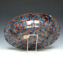 Thomas Sergent large oval Palissy fish charger - picture 2