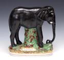 Very rare Staffordshire 'Jumbo' elephant figure - picture 1