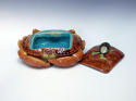 Fabulous Brown Westhead & Moore majolica crab tureen - picture 2